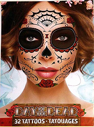Sugar Skull Face Makeup - Day Of The Dead Sugar Skull