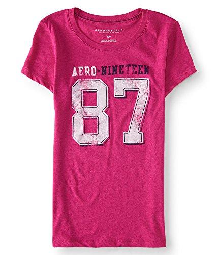 aeropostale-womens-aero-nineteen-87-graphic-t-shirt-m-mgnta-589