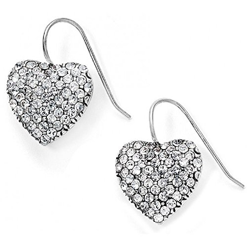 Brighton Lustrous Heart French Wire Earrings ()