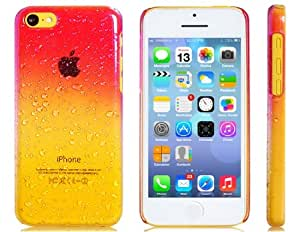 OnceAll Gradient 3D Raindrop Plastic Case for iPhone 5C