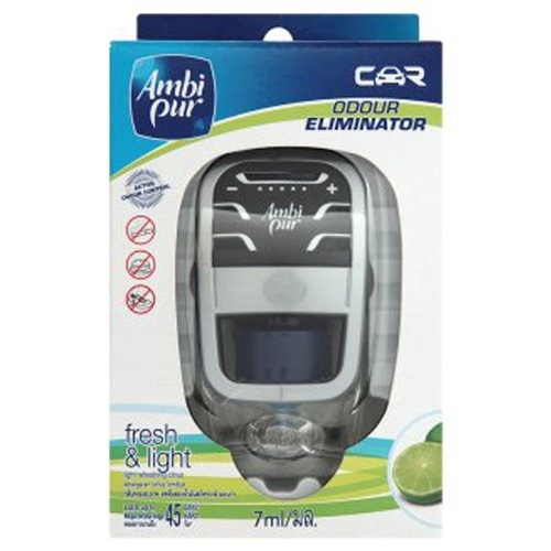 Ambi Pur Light Refreshing Citrus Scent Car Air Freshener 7ml