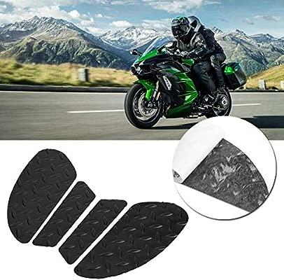 Duokon Motorcycle Tank Pad, antideslizante Tank Traction Pad ...