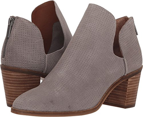 Lucky Brand Women's Powe Ankle Boot, Titanium, 7.5 Medium US