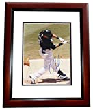 Signed Cantu Picture - 8x10 MAHOGANY CUSTOM FRAME - PSA/DNA Certified - Autographed MLB Photos