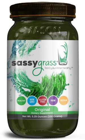 Sassy Grass - Certified 100% Organic Green Juice / Powder Concentrate- Super Food Supplement- Gluten Free, VEGAN, Non-GMO, 30 Servings Sassy Grass (Vitality Basic Supplement)