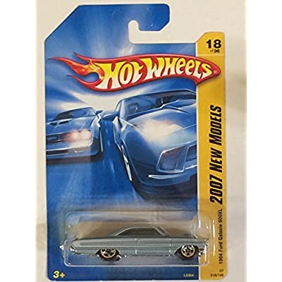1964 Ford Galaxie 500XL Lt Blue Hot Wheels (2007 New Models): Toys & Games