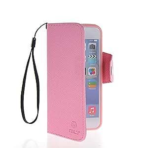HYFCASE® Funda de cuero Cartera Carcasa Tapa Case Cover Para Apple iPhone 6 (4.7 inch) Rosa