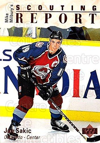 (CI) Joe Sakic Hockey Card 1995-96 Upper Deck (base) 242 Joe (Joe Sakic Hockey)