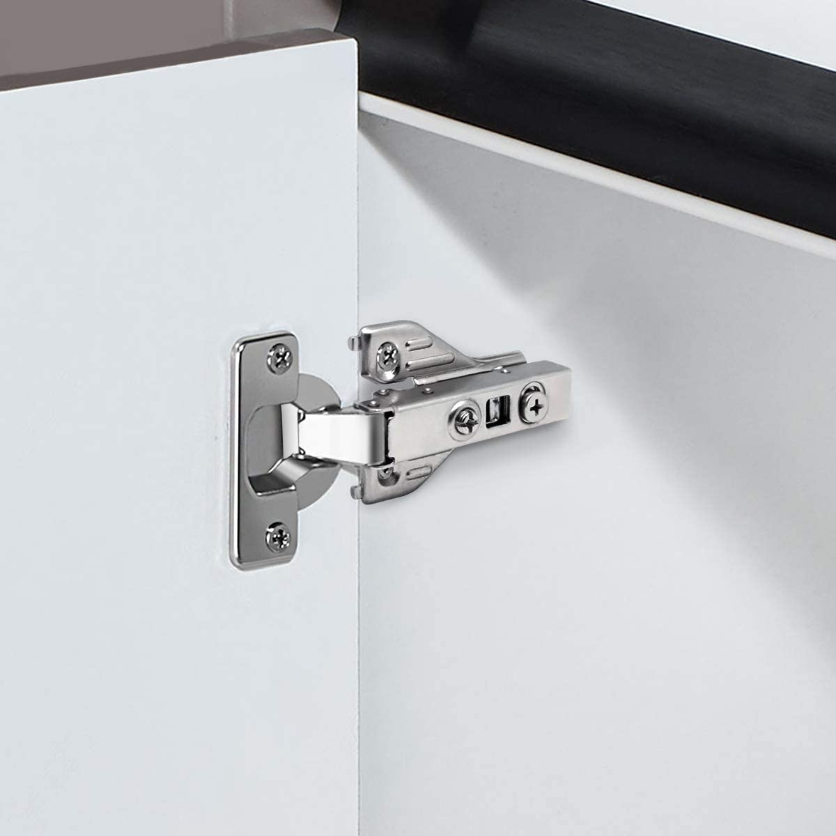 self-close door hinge example