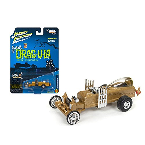 Johnny Lightning JLSS003 1:64 Barris Drag-U-La-The Munsters