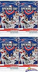 Wowzzer!! We are Proud to offer this Brand New 2019 Topps Opening Day MLB Baseball HOBBY Collection with FOUR(4) Factory Sealed HOBBY Packs! Each Factory Sealed HOBBY Pack includes 7 Cards for a Total of 28 New 2019 Topps Opening Day Cards! This Bran...