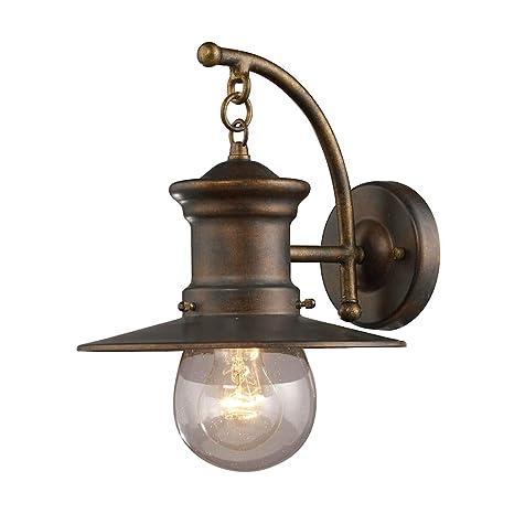 Amazon.com: Bidwell Lighting Meriam II - Aplique de pared de ...