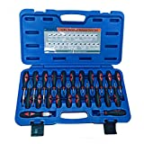 23-piece Screwdrivers Set Car Connectors Crimp Pin Remover Terminal Release Removal Tool Kit