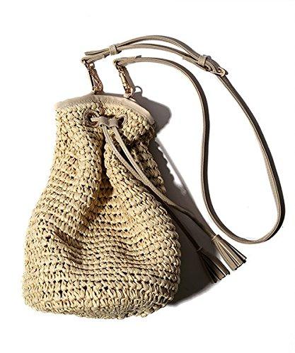 Amazon | (フリークスストア) FREAK'S STORE ペーパー手編みカゴ巾着バッグ 36588800150 NAT(06) その他 | カゴバッグ