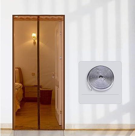 PP&DD Mosquera Magnetica para Puertas,Cortina De Mosquitos,Malla De Pantalla De Ventana,Resistente Manos Libres Blanco Mosquitera para Puertas, Puertas De Patio,80 * 200 A 170x220cm (67x87inch): Amazon.es: Hogar