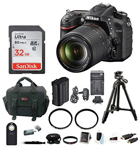 Nikon D7200 24 2MP Camera 18 140mm product image