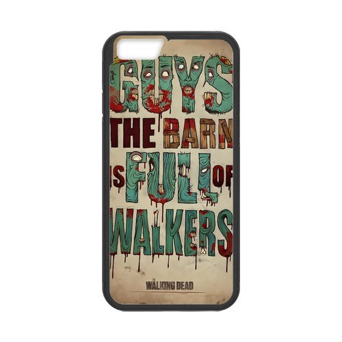 "Fayruz - iPhone 6 Rubber Cases, The Walking Dead Hard Phone Cover for iPhone 6 4.7"" F-i5G145"