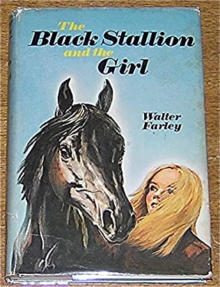 book cover of The Black Stallion and the Girl