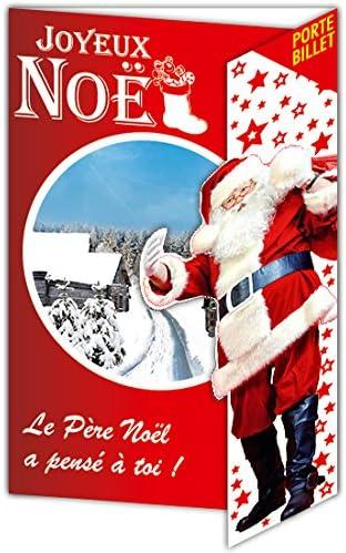 Afie 61 4060 B JN Carte Joyeux Noël Porte Billet: Amazon.fr
