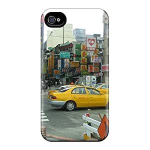 Forever Collectibles Asian Colorful Street Hard Snap-on Iphone 4/4s Case