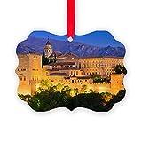 CafePress - Alhambra Palace, Granada, Spain - Christmas Ornament, Decorative Tree Ornament
