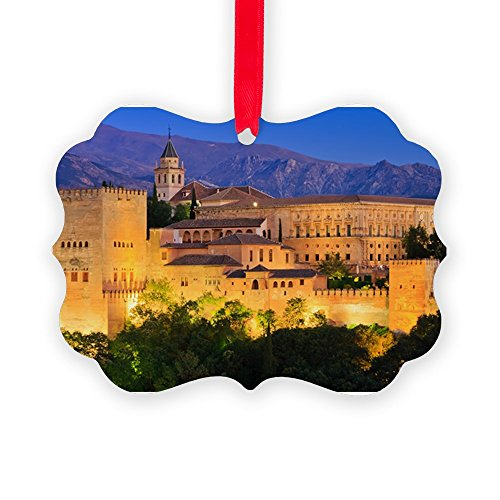 CafePress - Alhambra Palace, Granada, Spain - Christmas Ornament, Decorative Tree Ornament by CafePress