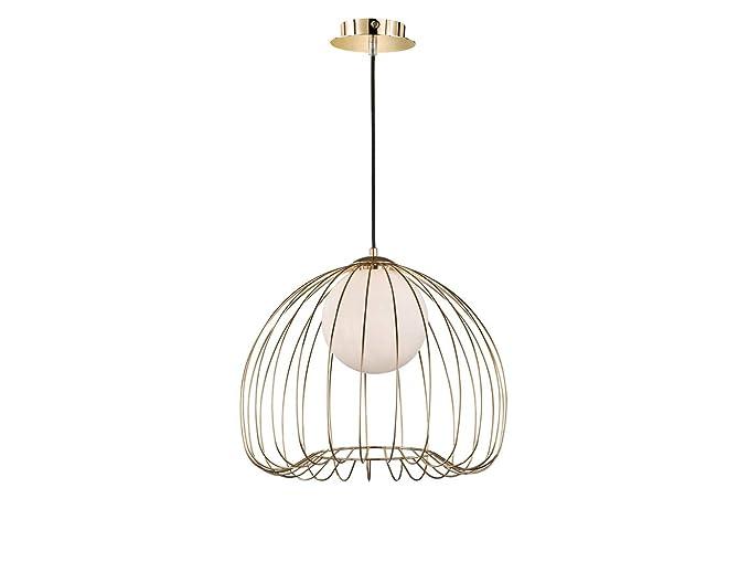Honsel - Lámpara de techo LED (intensidad regulable ...