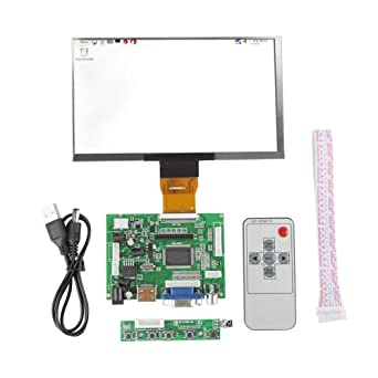 Módulo de Pantalla TFT LCD de 7 Pulgadas 1024 * 600 Kit de Pantalla de Monitor HDMI VGA Para Raspberry Pi 3/2
