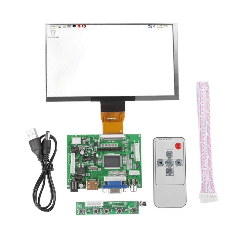 7'' TFT LCD Display HDMI VGA Monitor Screen Kit 1024600 Compatible Raspberry Pi 3/2