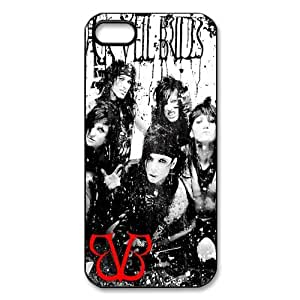 Teentopvogue iphone 4 case Black Veil Brides BVB Andy Six With Other Band Members Pattern iphone 4s case TPU by runtopwell