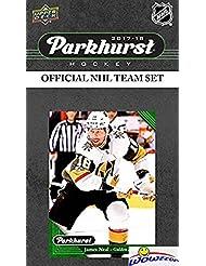 Las Vegas Golden Knights 2017/18 Upper Deck Parkhurst NHL Hockey EXCLUSIVE Limited Edition Factory Sealed 10 Card Team Set including Mattias Ekholm, P.K. Subban & all the Top Stars & RC's! WOWZZER!