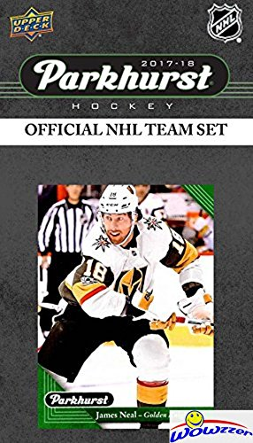 Las Vegas Golden Knights 2017/18 Upper Deck Parkhurst NHL Hockey EXCLUSIVE Limited Edition Factory Sealed 10 Card Team Set including Mattias Ekholm, P.K. Subban & all the Top Stars & RC's! WOWZZER!