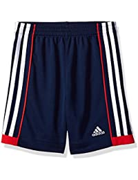 Little Boys' Athletic Short, Navy/Red, Navy/Red