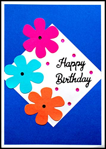 AanyaCentric Handmade Birthday Greeting Card for Best Friend