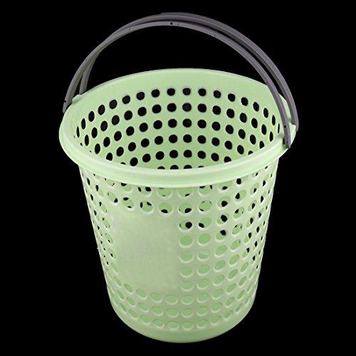 Amazon.com: eDealMax plástico Ministerio del Interior al lado del escritorio Cubo de basura de residuos de Papel cesta de la basura cubo de la basura 24cm ...