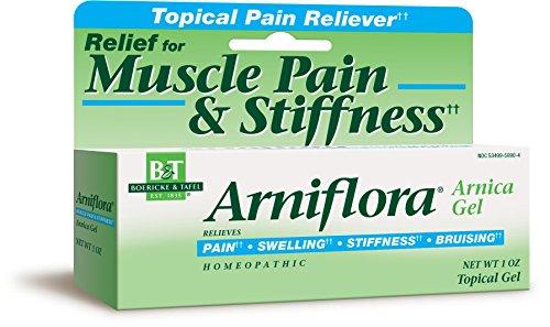 Boericke & Tafel Arniflora Muscle Pain & Stiffness Relief Gel, 1 Ounce