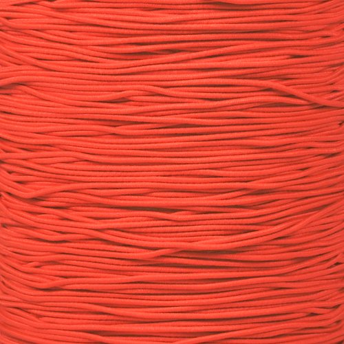 """1//2 inch Crafting Stretch String 10 25 50 /& 100 Foot Lengths Made in USA 1//8/"""" 1//4 PARACORD PLANET Elastic Bungee Nylon Shock Cord 2.5mm 1//32 3//8 3//16 1//16 5//16 5//8"""
