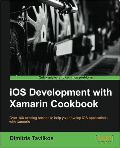 iOS Development Xamarin Cookbook Strategies