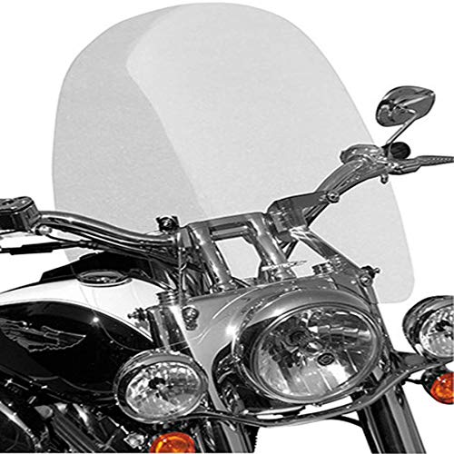Cruise Series Windshield - 15in. Low - Clear 2002 Yamaha XV1700PC Road Star Warrior Street Motorcycle -  RD - Sportech, 65501012.1210.20608.02
