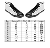 LIFEDZYLJHGO Printed Canvas Shoes for Men High Tops