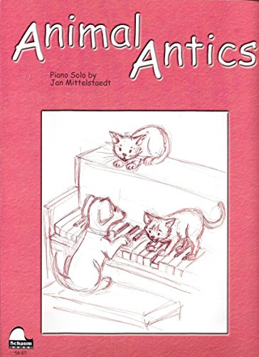 Animal Antics - Antics Animal Sheet
