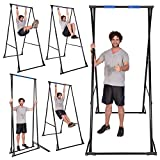 Free Standing Pull Up Bar Outdoor KT1.1520, Foldable Home Gym Workout Equipment Bar, Portable Back Stretcher For Spinal Decompression, Height Adjustable & Stable & Durable Exercise Equipment in home