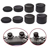 Aniann Pack of 8 PCS/4 Pairs Silicone Precision Platform Raised Anti-slip Rubber Analog Thumb Grip Thumbstick for PS2, PS3, PS4, Xbox 360, Xbox One Controller