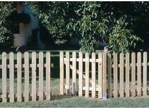 Seifil M115928 - Puerta madera para valla clasica 80 x 100 cm ...