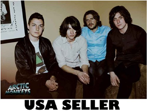 Arctic Monkeys brownish bkgrnd horiz POSTER 34 x 23.5 Brit rockers Alex Turner (sent FROM USA in PVC pipe) ()