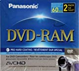DVD-RAM for DVD Camcorders - 2pack
