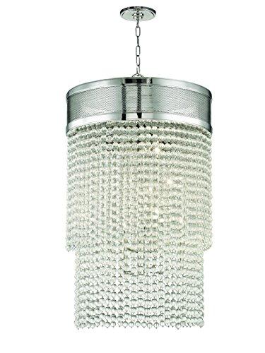 Hudson Valley Lighting 7722-PN Harrison 12 Light Pendant 3, Aged Brass Finish