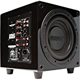 Earthquake Sound MiniMe P8_V2 Passive Tuned Powered Mini Subwoofer (Piano Black)