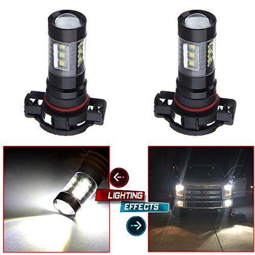 cciyu H16 Type 1 LED Lights Bulbs 5202 5201 H16 9009 LED Bulbs Replacement fit for Fog Light Lamps Replacement