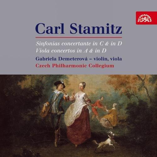 Stamitz: Sinfonias Concertante in C & in D; Viola Concertos in A & in (Concertante Viola)